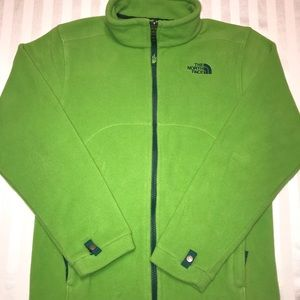 Kids the north face fleece jacket
